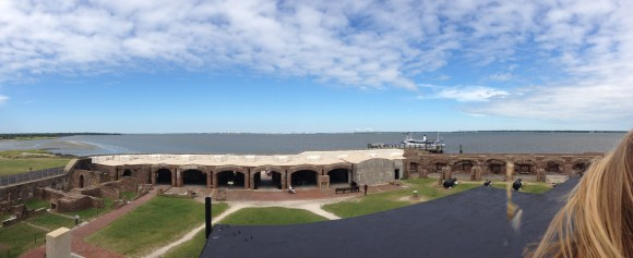Fort Sumter Panorama