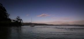 Huon River at Dusk