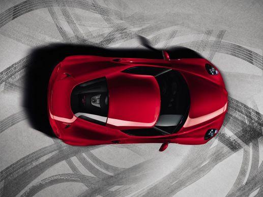 Alfa Romeo 4C Top View