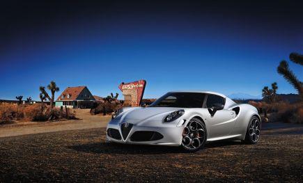 Alfa Romeo 4C Launch Edition