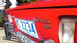 Maserati Ghibli SS at Classics By The Beach Hobart