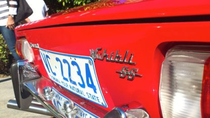 Maserati Ghibli SS at Classics By The Beach Hobart