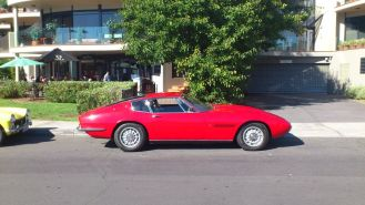 Maserati Ghibli SS at Classics By The Beach, Hobart
