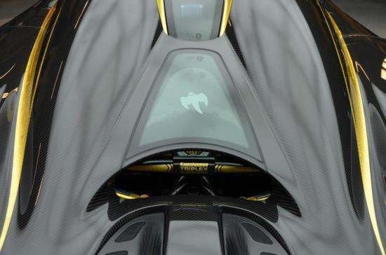 Koenigsegg Hundra Ghost