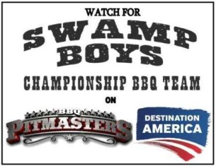 Swamp Boys on BBQ Pitmasters!