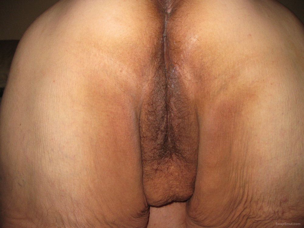 Have thought bent over pussy from behind close up