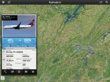 Our Plane On FlightRadar24