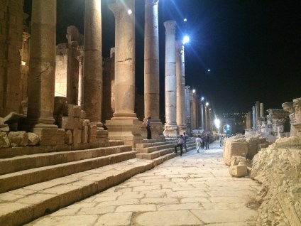 Jerash At Night