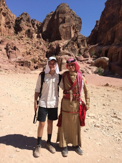Making Friends In Petra!