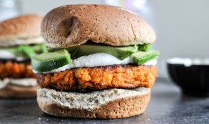 Today on the Boards: Sweet Potato Burgers