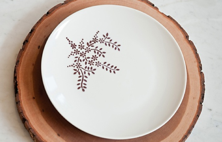 Today on the Boards: DIY Sharpie Dinnerware