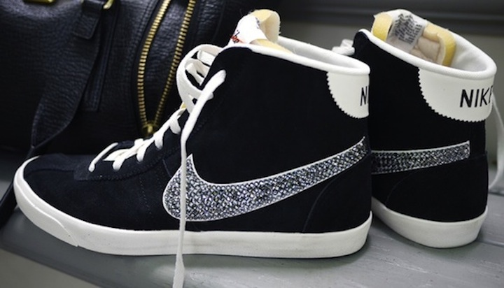 Today on the Boards: DIY Crystal Studded Sneakers