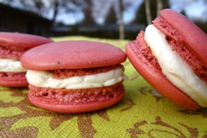 Close-Up Macarons