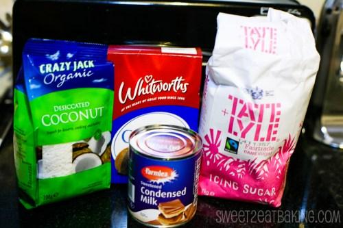Coconut Ice Ingredients