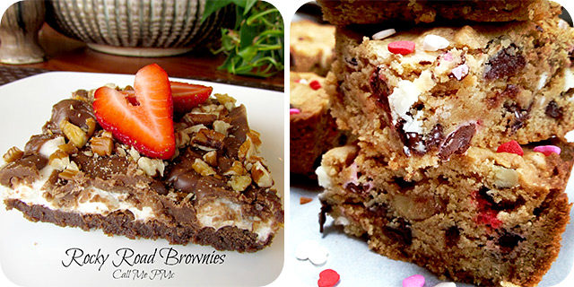 Rocky Road Brownies | Peanut Butter Cookie Bars