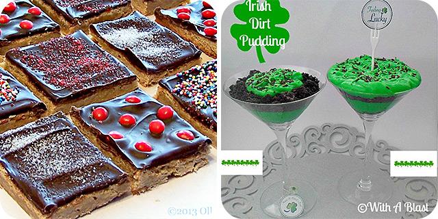 Patchwork Cookies | Irish Dirt Pudding