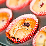 Black Forest Fruits Muffins Recipe