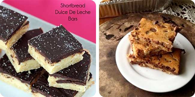 Shortbread Dulce de Leche Bars | Chocolate Chip Cookie Bars