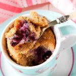 Blueberry Mug Muffin Recipe
