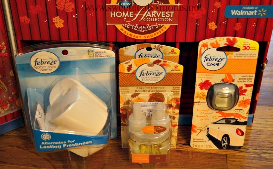 Febreze Home Harvest Collection items