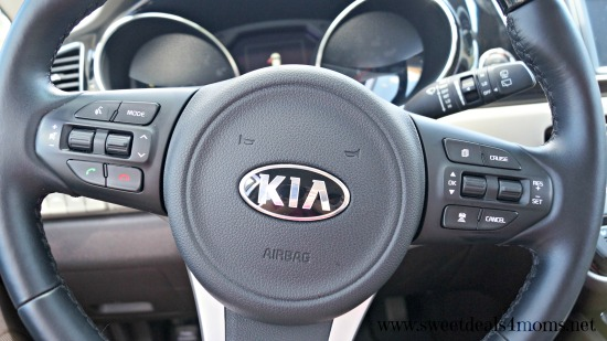 kia steering wheel