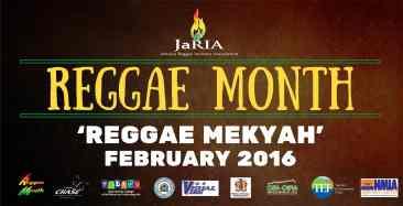 'Reggae Mekyah' – Reggae Month 2016 Jamaica