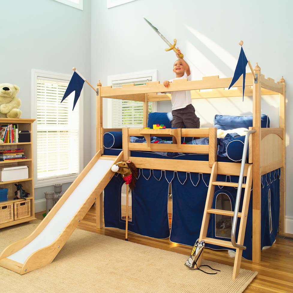 Decent Slide By Maxtrix Kids Low Loft Bed Camelot Castle Low Loft Bed Stairs Low Loft Bed Ideas baby Low Loft Bed