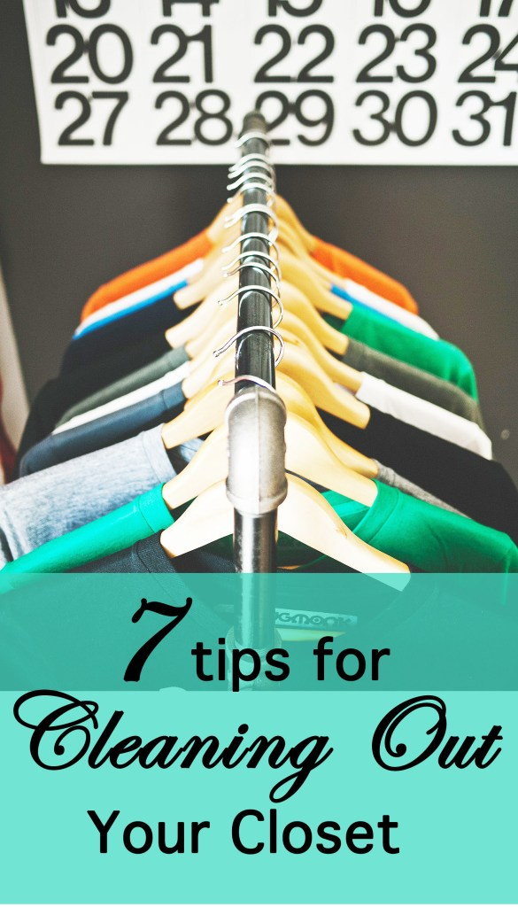 Seven Tips For Cleaning Out Your Closet Sweet Sauce Blog