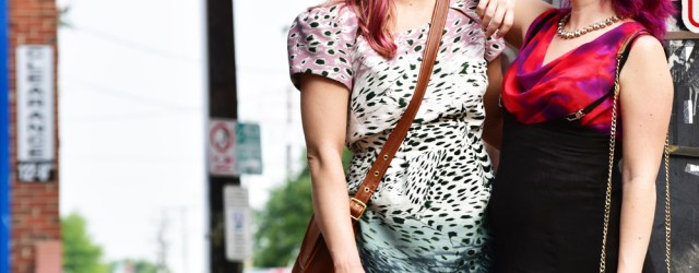 vintage style blogger