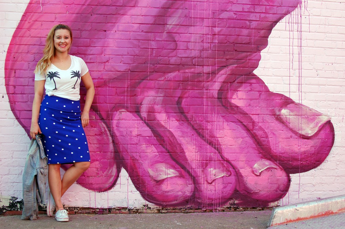Three Ways To Wear A Polka Dot Skirt + Giveaway
