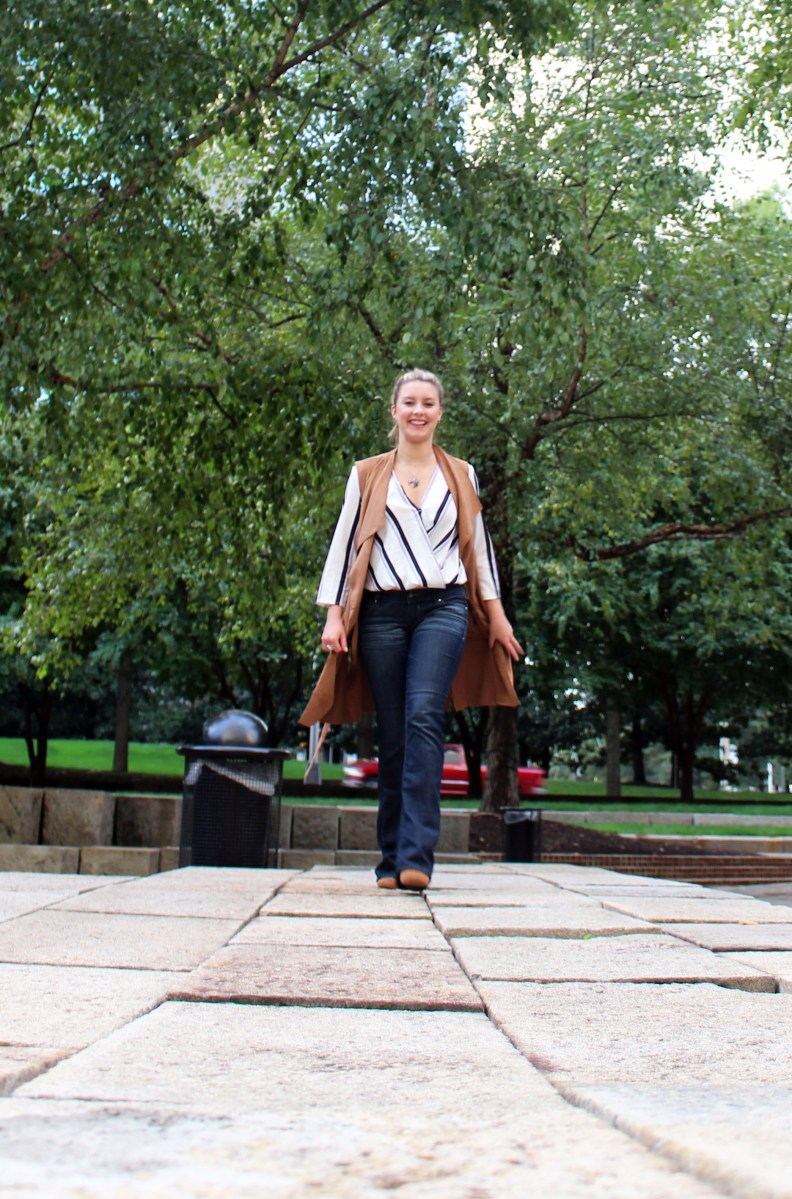 How to Style a Sleeveless Trench Coat