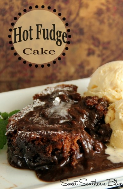 HOT FUDGE CAKE