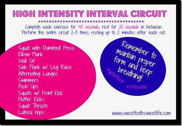 high intensity interval circuit1