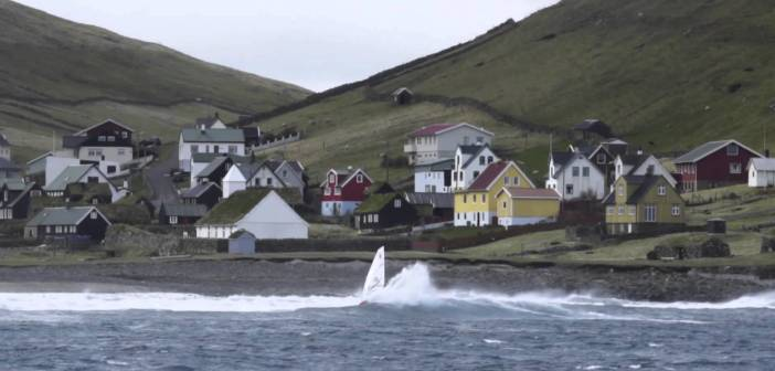 Pro Windsurfer Daniel Bruch Takes On the Icy Waves of the Faroe Islands
