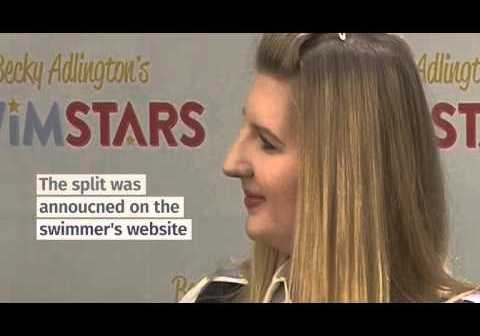 Rebecca Adlington and husband Harry Needs split after 18 months of marriage