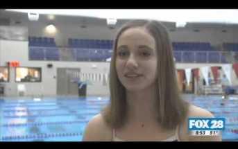 Matt's Action Cam: Swimming for Gold