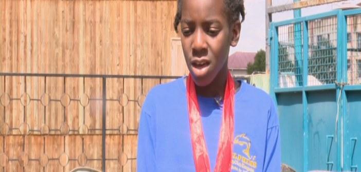 Kirabo Namutebi has a bright future as a competitive swimmer