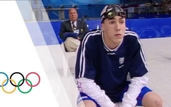 Olympic Debut: Michael Phelps