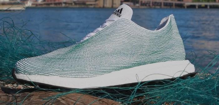 Adidas runs with first batch of ocean plastic footwear