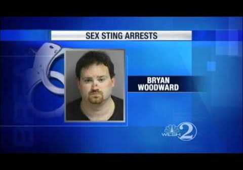 Bryan Woodward only one of 40 arrested in week-long internet sex sting