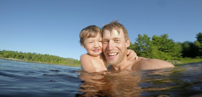 GoPro: Fun on the River With Dad