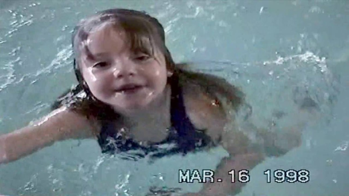 Olympic Swimmers when they were just beginners