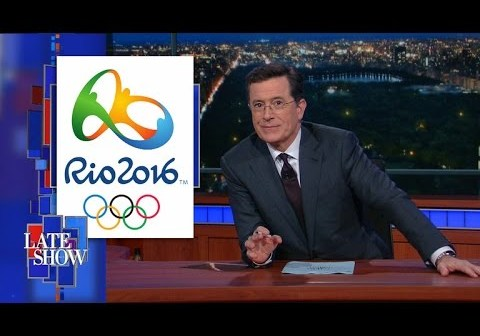 The Rio Olympics Are In Total Disarray, Says Colbert