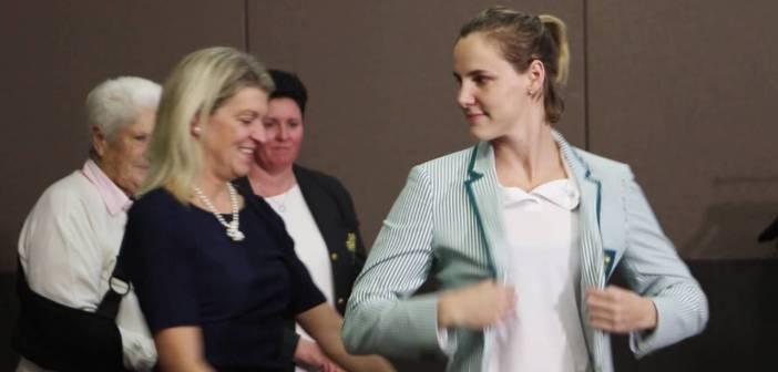 Australia's 2016 Olympic Swim Team Blazer Presentation