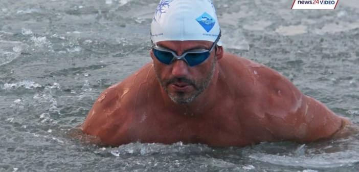 How Ryan Stramrood transformed from couch potato to ice swimmer
