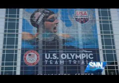 SNN: Sarasota Shark Swimmer Races for Spot on U.S. Olympic Swim Team