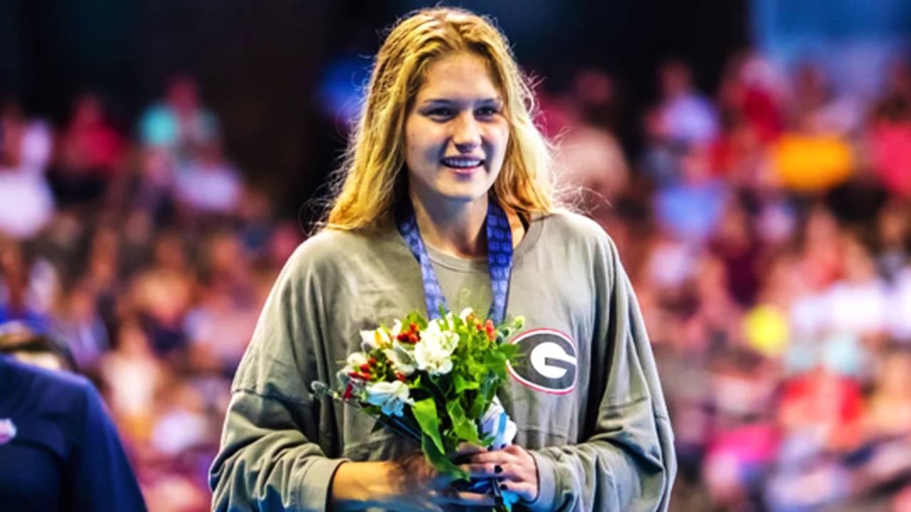 USA Swimming Olympic Team 2016 – Olivia Smoliga