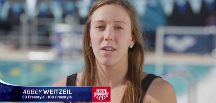 Abbey Weitzeil – USA Swimming Olympic Team 2016