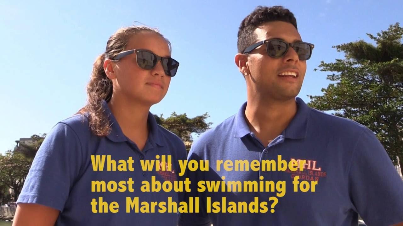 Marshall Islands Olympic Swim Team Q & A – Rio Olympics – Oceania Swimmers