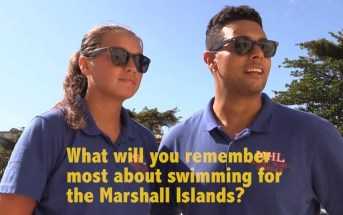 Marshall Islands Olympic Swim Team Q & A – Rio Olympics – Oceania Swimmers